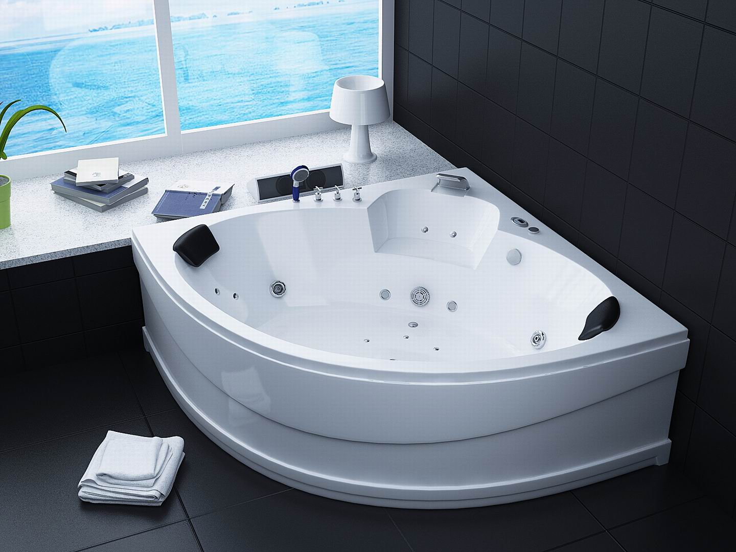 corner bath tub amazing